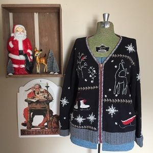 Sweaters - Cute Ugly Christmas Sweater / Cardigan